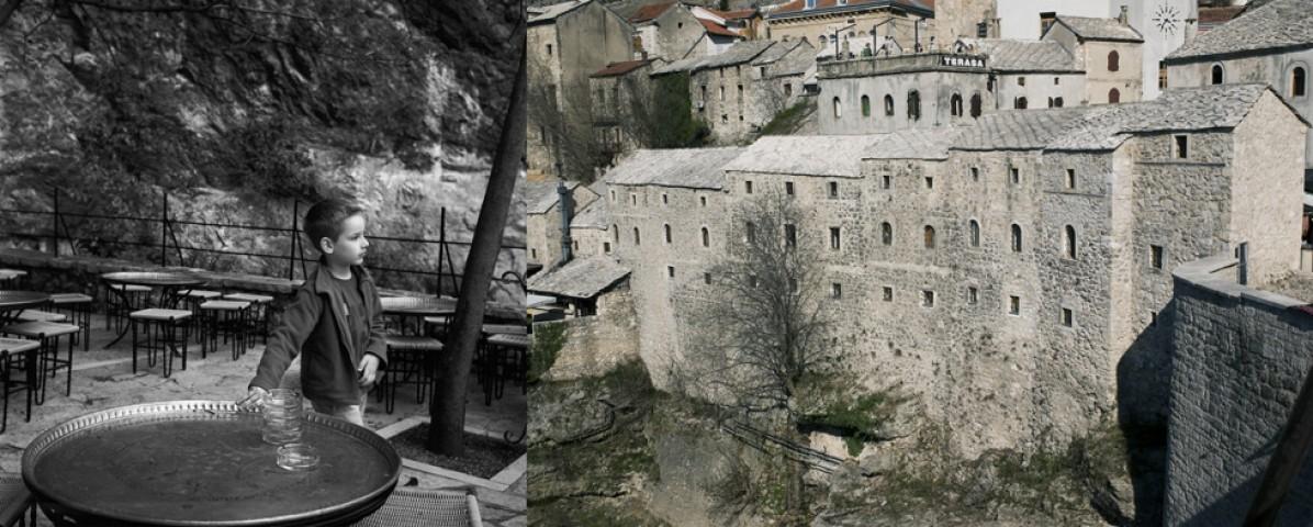 Mostar, border Bosnia-Herzegovina – Croatia