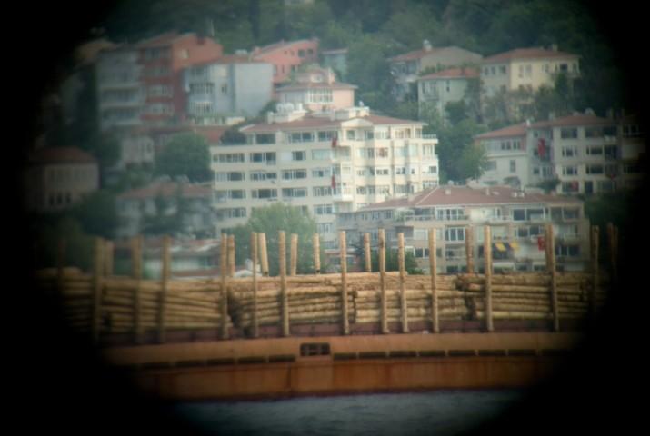 Bosporus: transport of wood