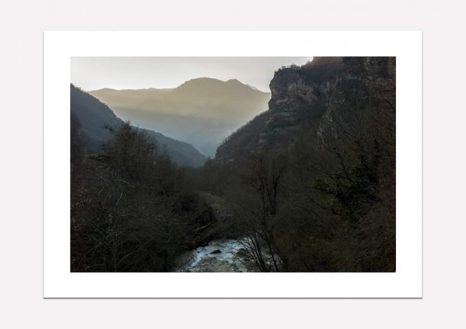 Mavrovo mountains, Macedonia - Fine art print A4