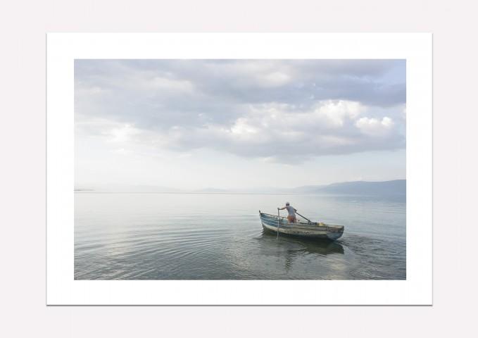 Lake Ohrid, Albania - Fine art print A4