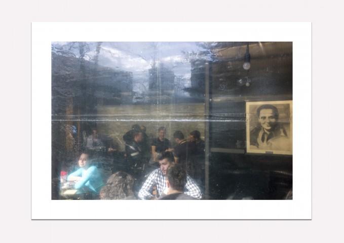 Sarajevo, Bosnia-Herzegovina, Tito café - Fine art print A4